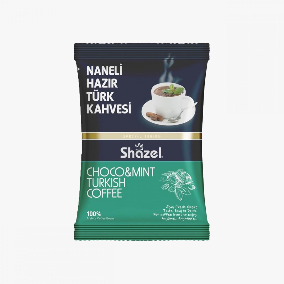 Shazel Naneli Hazır Türk Kahvesi 100gr.