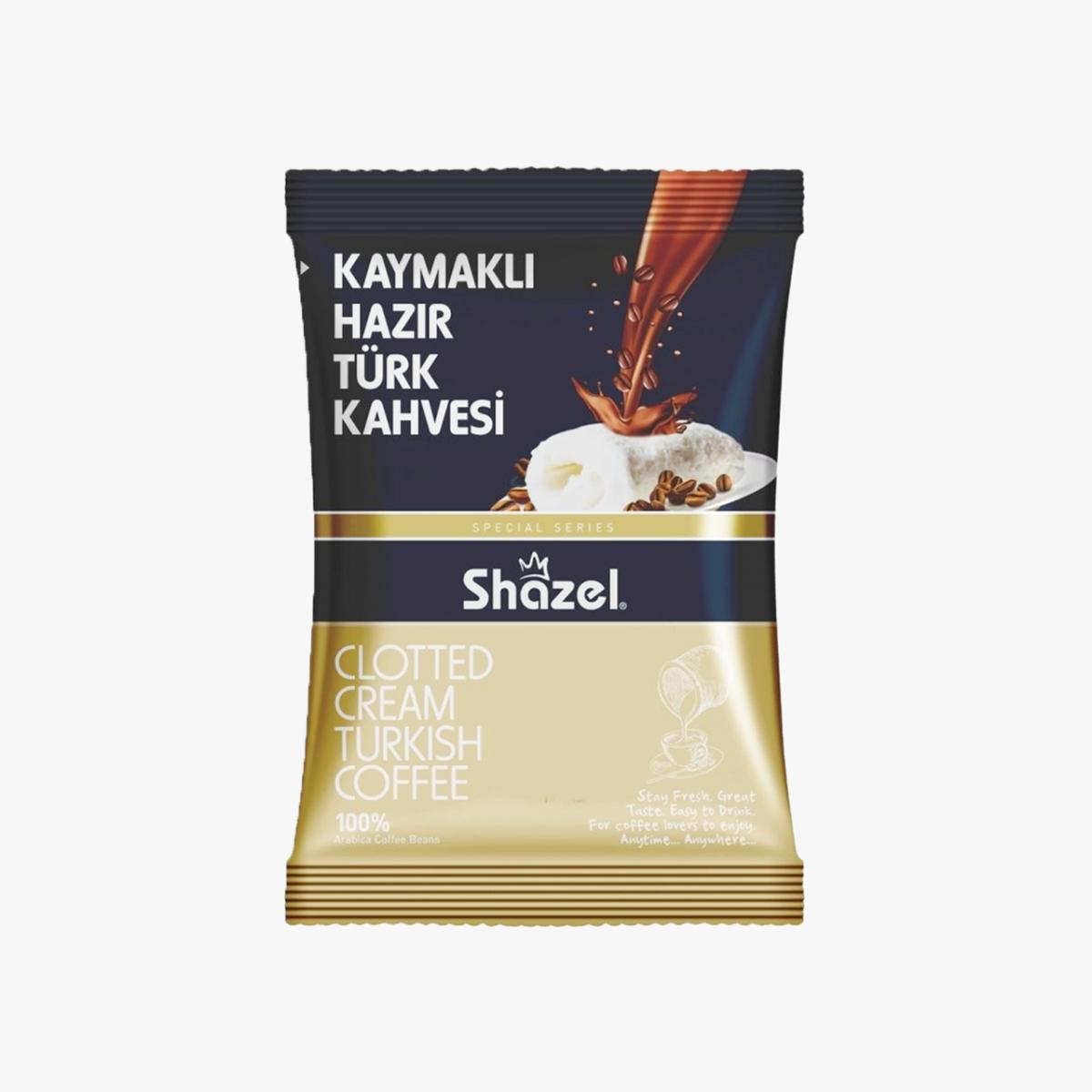 Shazel Kaymaklı Hazır Türk Kahvesi 100 GR