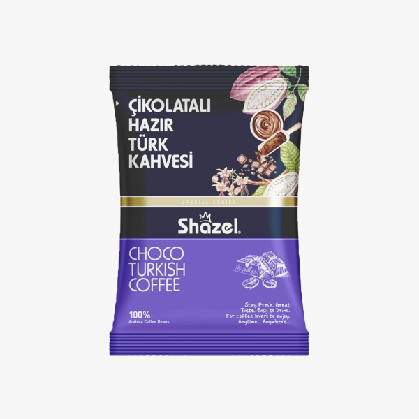 Shazel Çikolatalı Hazır Türk Kahvesi 100 GR
