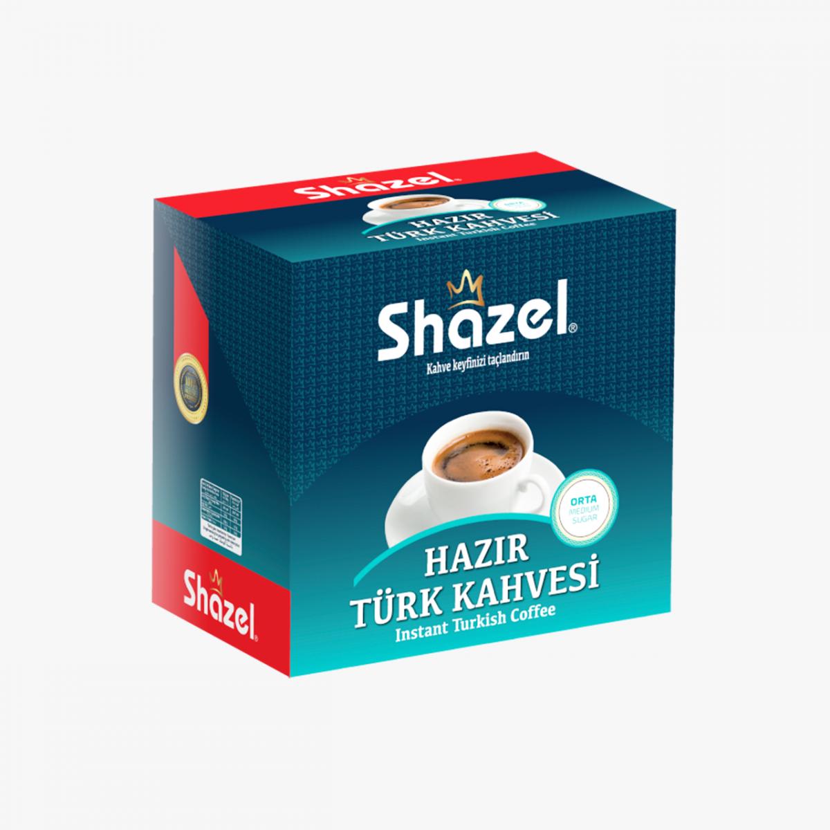 Hazır Türk Kahvesi Orta - 12'li Kutu