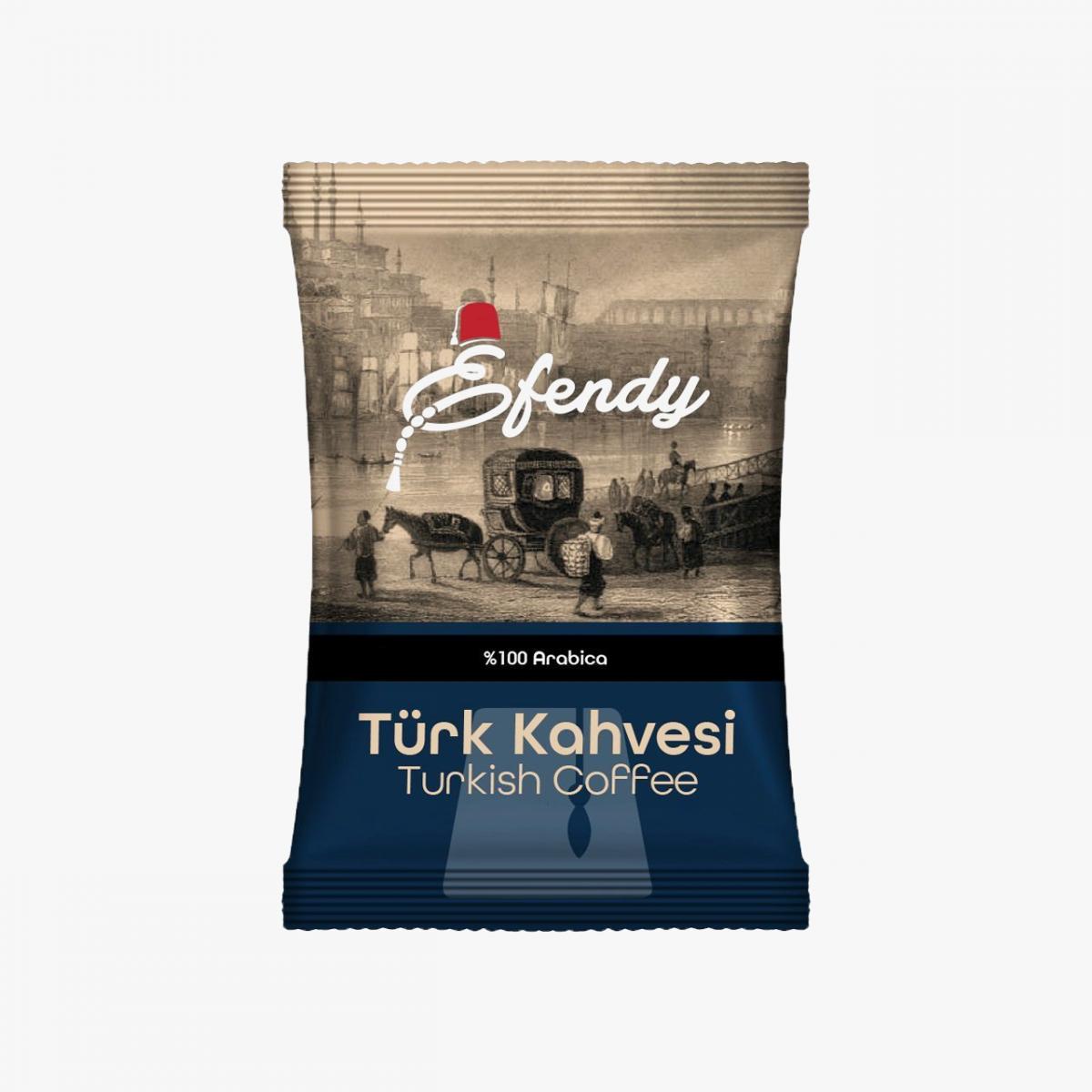 Geleneksel Türk Kahvesi- Koyu Kavrulmuş - 100gr.
