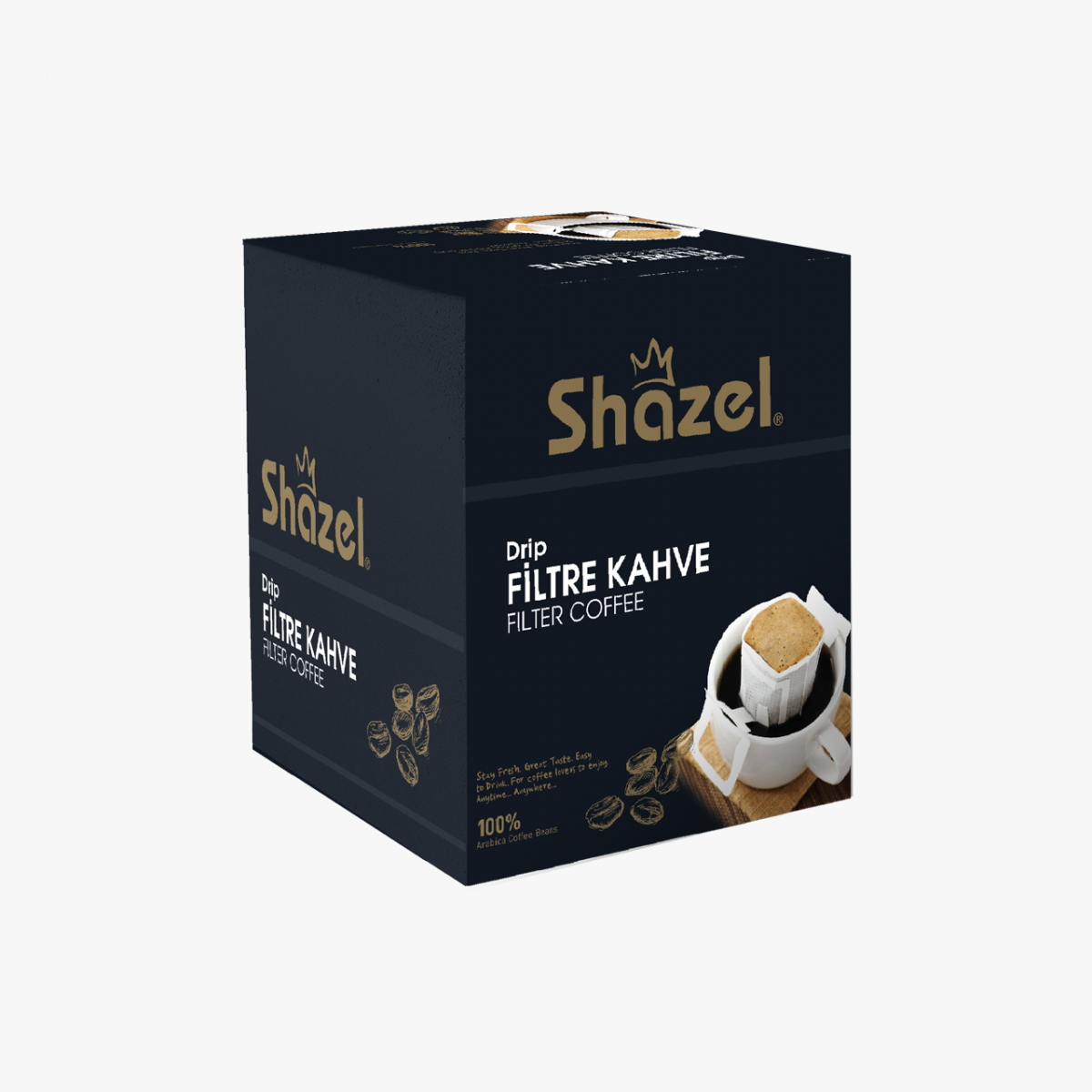 Shazel Drip Filtre Kahve- 12'li - Kutu