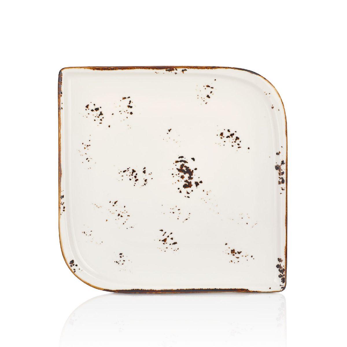 Elegance Arel 30 cm Kare Tabak