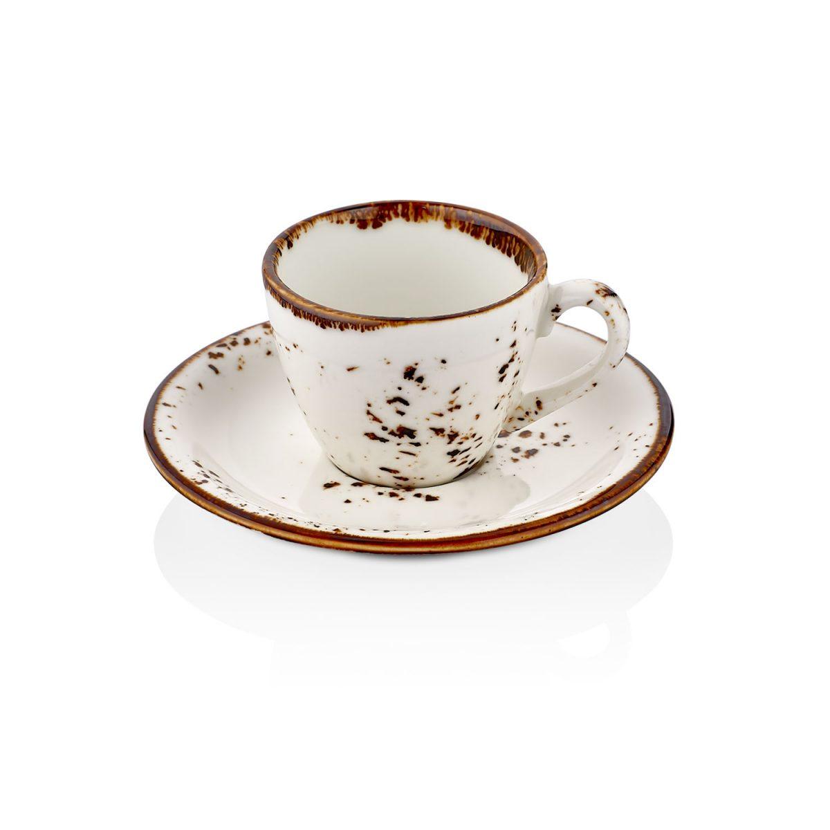 Elegance Zest Kahve Fincan Takımı