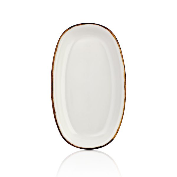 Gleam Zest 29 cm Oval Tabak