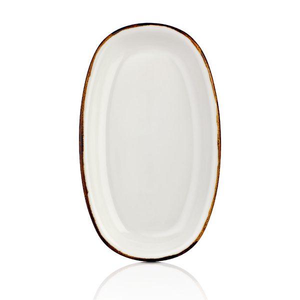 Gleam Zest 34 cm Oval Tabak