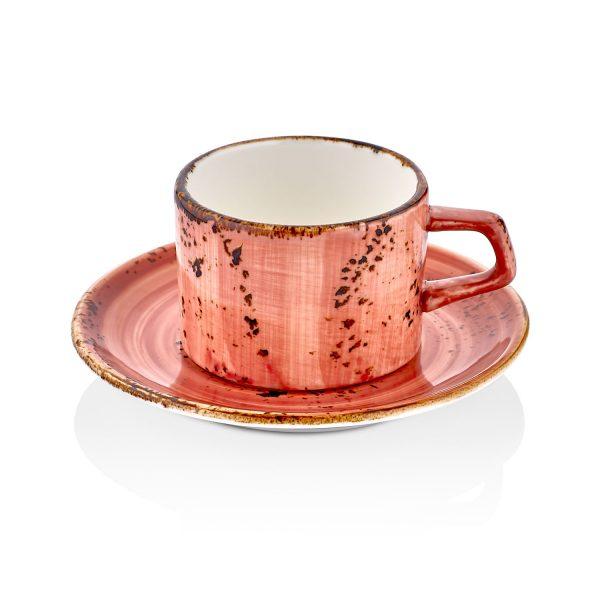 Laterite Gastro Çay Fincan Takımı