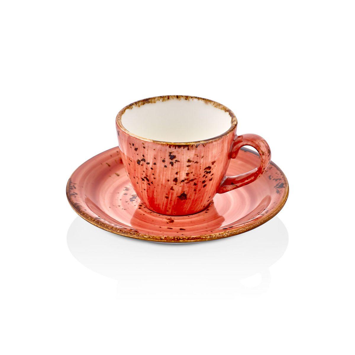 Laterite Zest Kahve Fincan Takımı