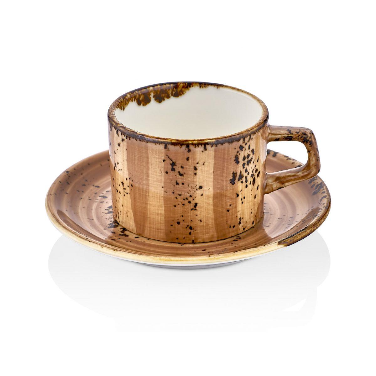 Vintage Gastro Çay Fincan Takımı