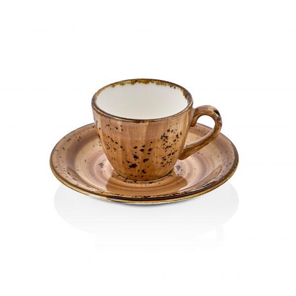 Vintage Zest Kahve Fincan Takımı