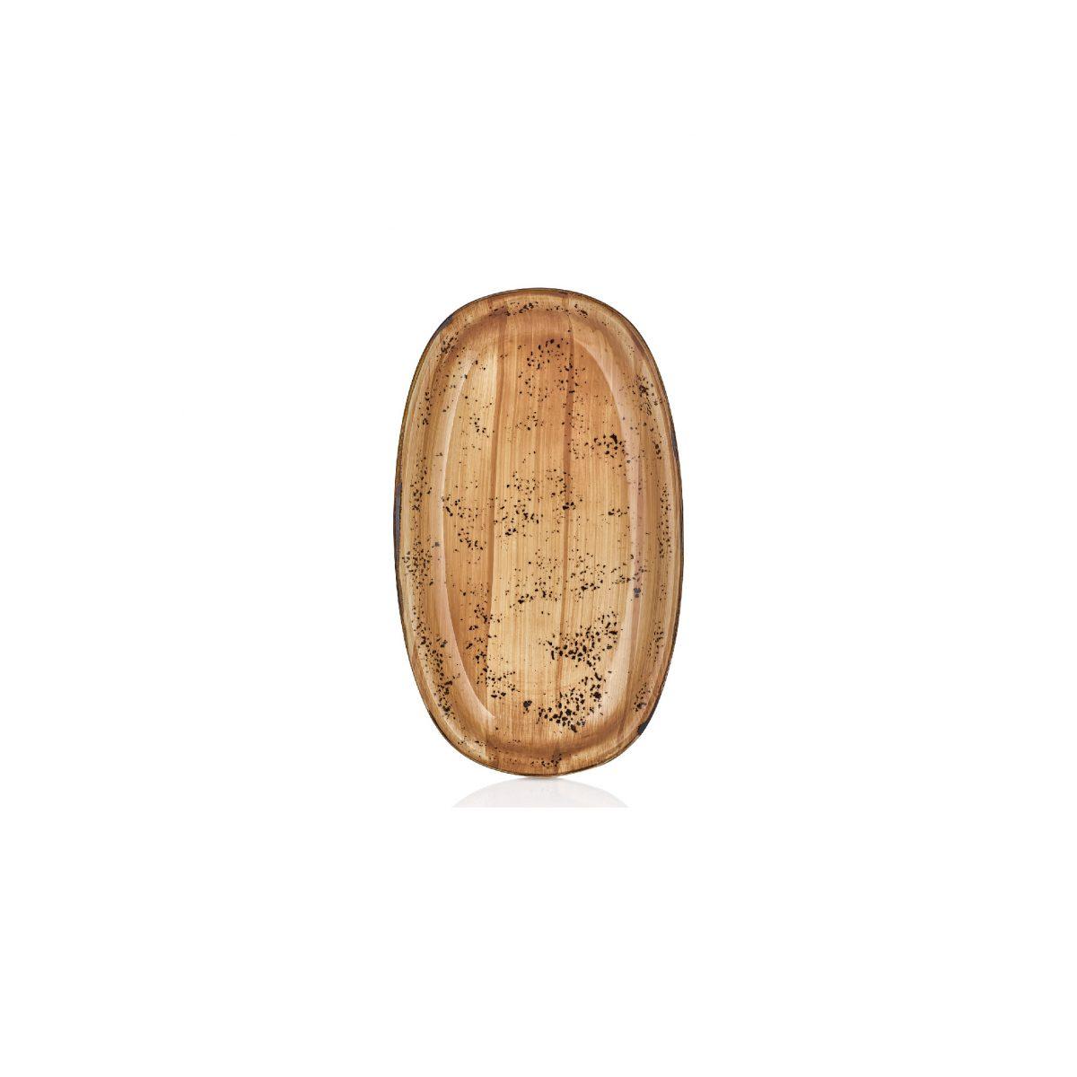 Vintage Zest 15 cm Oval Tabak