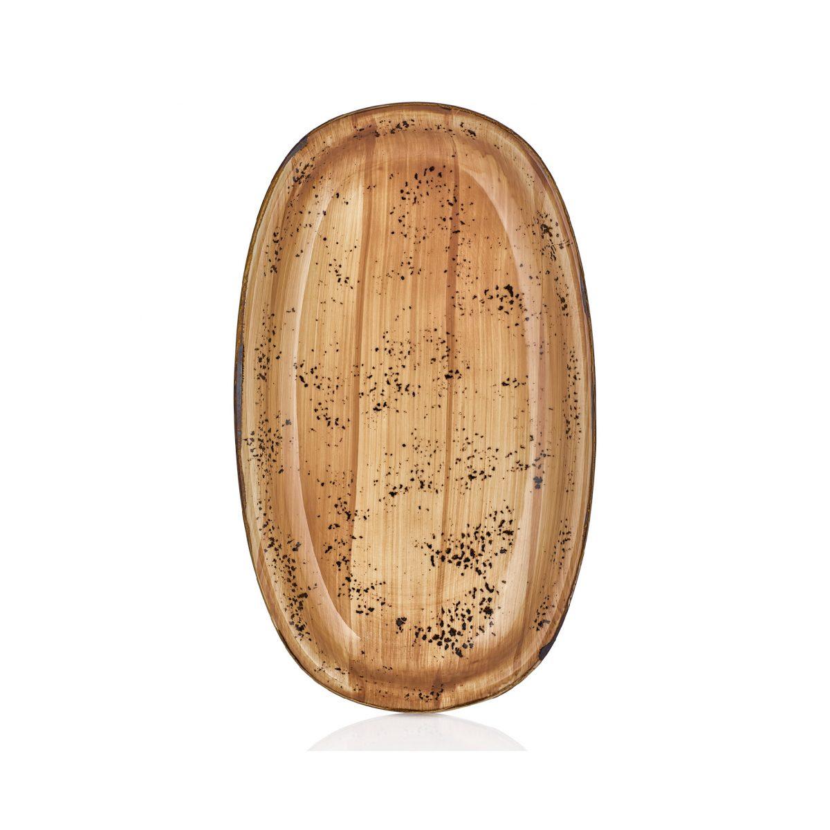 Vintage Zest 24 cm Oval Tabak