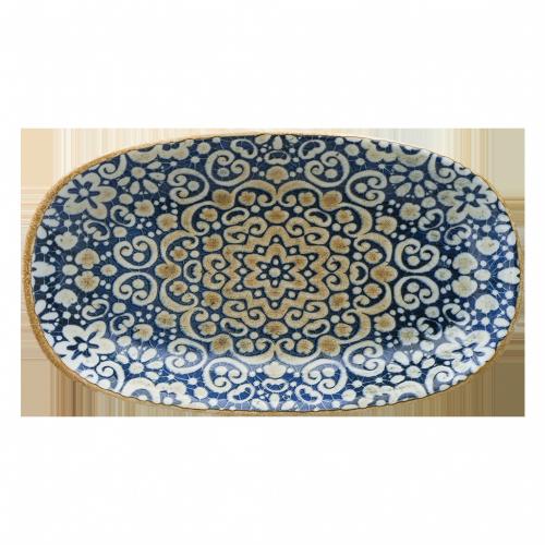 Alhambra Gourmet Oval Kayık Tabak 24*14 cm