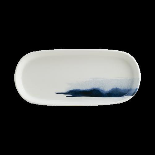 Mavi Dalga Hygge 21cm Oval Tabak