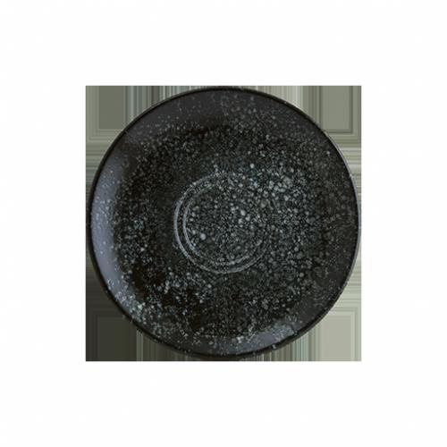 Cosmos Black Gourmet Kahve Fincan Tabağı 16 cm