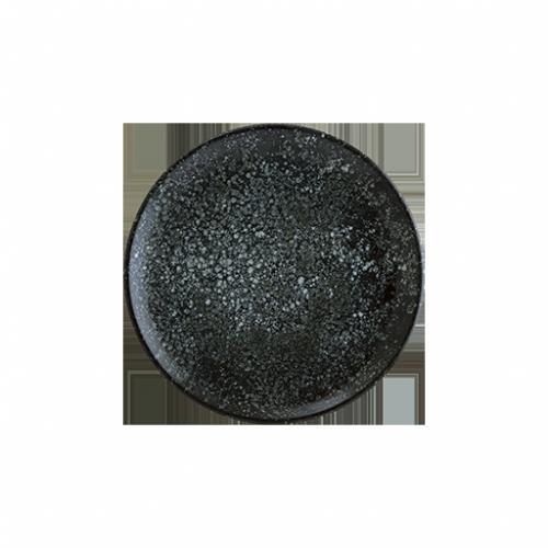 Cosmos Black Gourmet Düz Tabak 17 cm