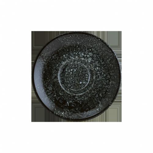 Cosmos Black Gourmet Düz Tabak 25 cm