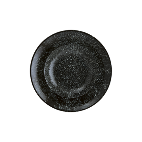 Cosmos Black Gourmet Düz Tabak 30 cm