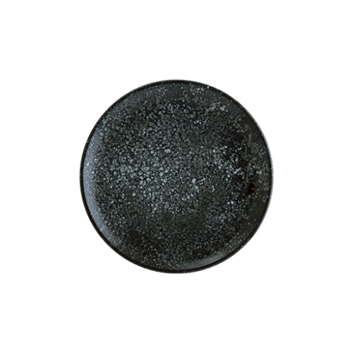 Cosmos Black Vago Düz Tabak 33 cm