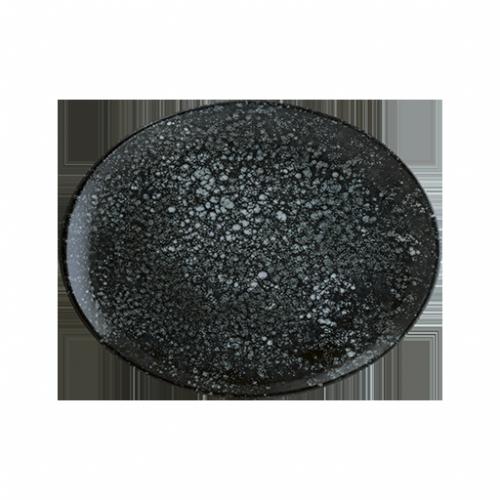 Cosmos Black Vago Çukur Tabak 26 cm 790 cc