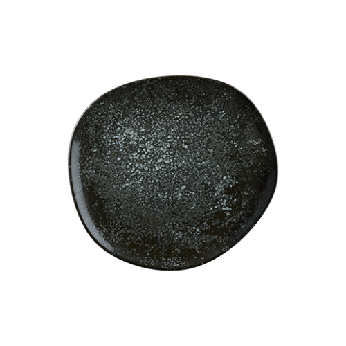 Cosmos Black Vago Düz Tabak 15 cm