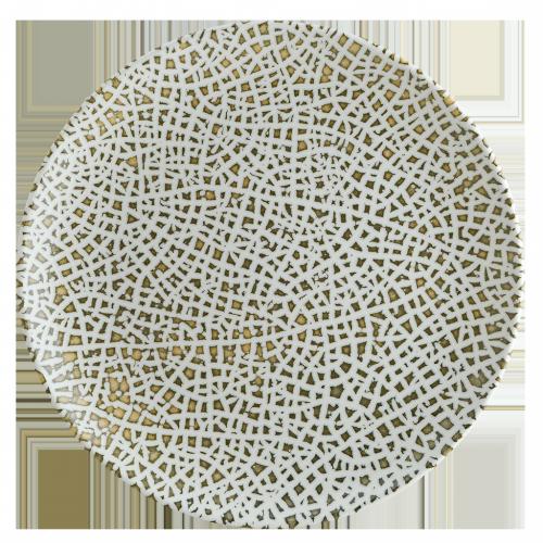 Lapya Wood Gourmet Düz Tabak 19 cm