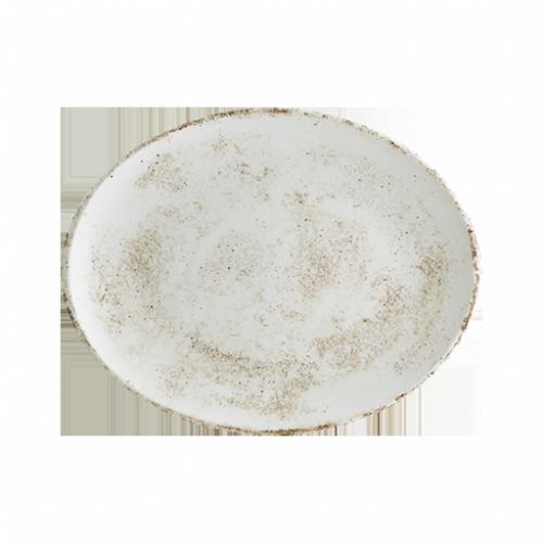 Nacrous Matt Gourmet Oval Kayık Tabak 29*17 cm