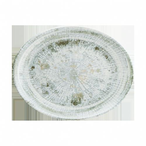 Odette Olive Moove Oval Tabak 31*24 cm
