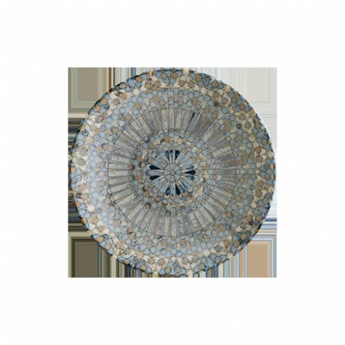 Luca Mozaik Bloom Çukur Tabak 25 cm 1300 cc