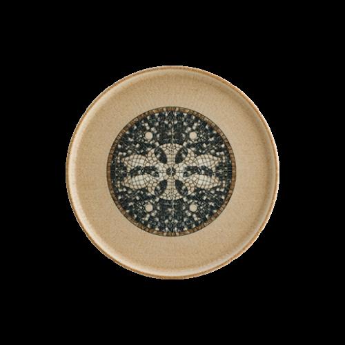 Mezopotamya Kahve 28cm Hygge Düz Tabak