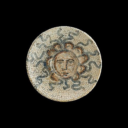 Mezopotamya Güneş Gourmet Kahve Fincan Tabağı 16 cm