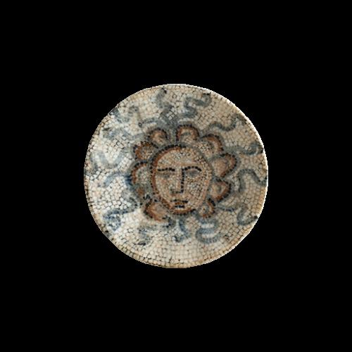 Mezopotamya Güneş Rita Acem Çay Tabağı 11 cm