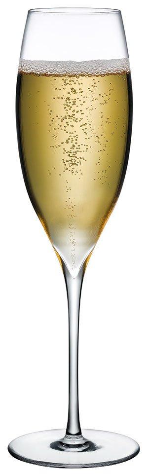 66060 Flights Beyaz Şarap Kadehi