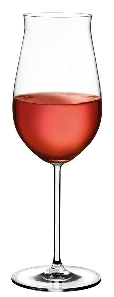 66113 Vintage Gül Şarap Kadehi