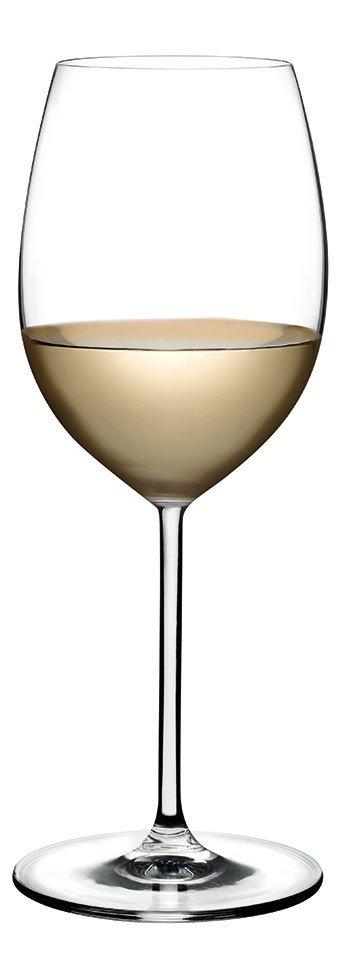 66117 Vintage Beyaz Şarap Kadehi