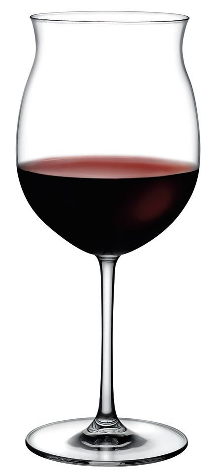 66127 Vintage Burgonya Şarap Kadehi