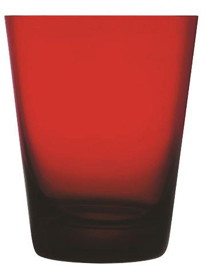 22240 Colored V Kırmızı Su Bardağı