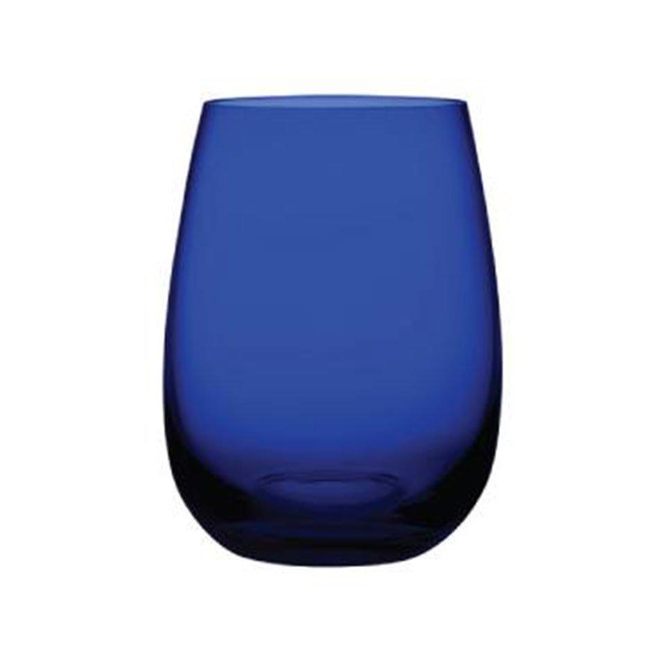 22360 Colored U Lacivert Su Bardağı