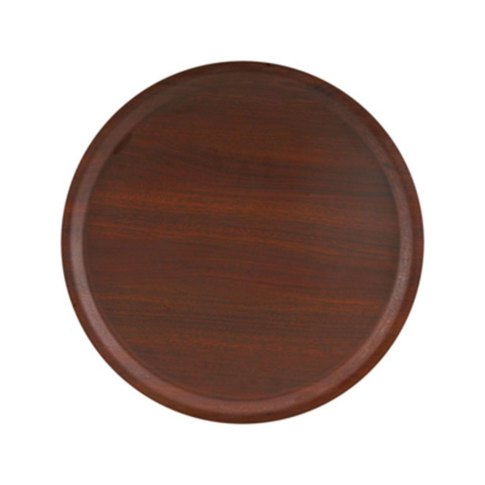 Yuvarlak Woodform Kaymaz Tepsi