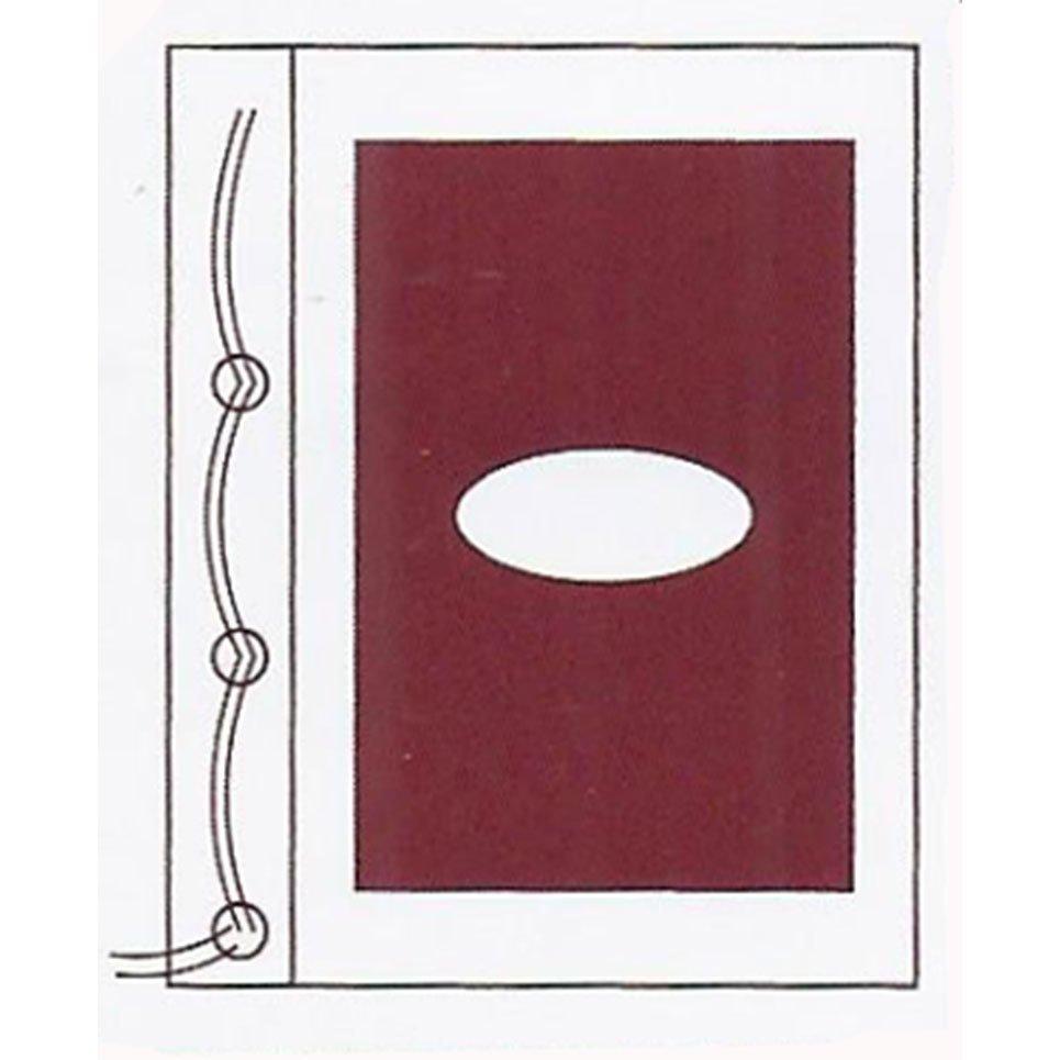 Plato Bağcıklı Bakır & Alüminyum Pencereli Üst