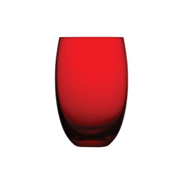 12925 Colored O Kırmızı Su Bardağı
