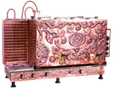 Meşale Antik  Jumbo Full Otomatik Çay Kazanı
